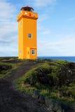 Маяк в Snaefellsnes, Исландии Стоковое фото RF