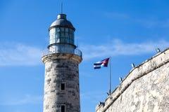 Маяк, Гавана, Куба Стоковое Изображение