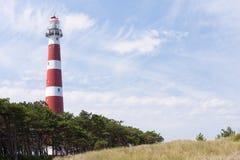 маяк голландеца ameland Стоковое фото RF