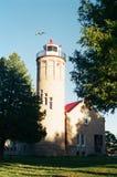Маяк города Mackinac стоковые изображения rf
