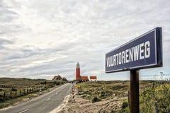 маяк Голландии Стоковые Изображения RF