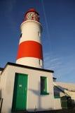 маяк двери зеленый Стоковая Фотография RF