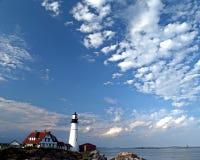 маяк дня совершенный Стоковое Изображение RF