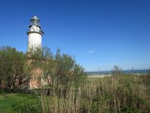 Маяк долин эмилия-Романьи перепада Po Comacchio Италии Стоковое фото RF