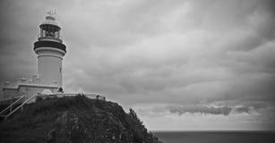 Маяк залива Байрона стоковая фотография rf