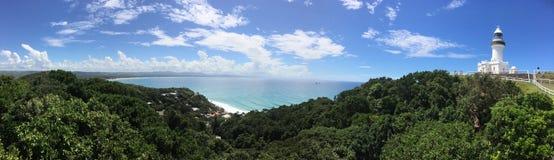 Маяк залива Байрона, NSW, Австралия Стоковая Фотография