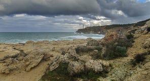Маяк и море Стоковая Фотография RF