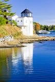 маяк Мейн стоковое фото rf