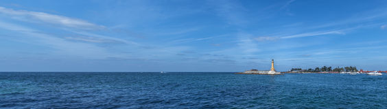 Маяк моря Стоковое Фото