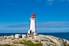 маяк наследия пляжа Стоковое Изображение