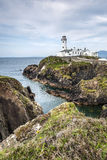 Маяк на голове Donegaln Ирландии Fanad Стоковое Фото