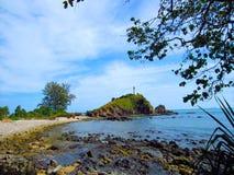 Маяк на острове Lanta Стоковое Фото