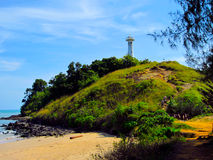 Маяк на острове Lanta Стоковые Фото