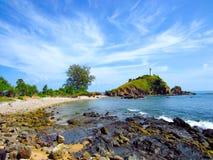 Маяк на острове Lanta стоковая фотография rf