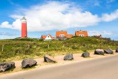 Маяк на острове Texel Стоковые Изображения RF
