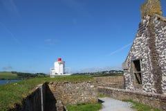 Маяк на форте Чарльза губит Kinsale Ирландию стоковые фото