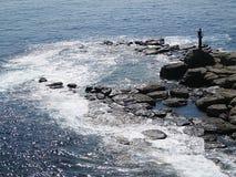 Маяк на seashore Стоковые Изображения RF