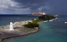 маяк острова борова Стоковое фото RF