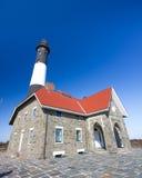 маяк острова пожара стоковые фото