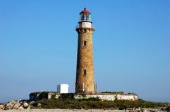 маяк острова чайки немногая длиной ny Стоковые Фото