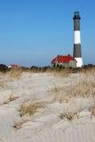 маяк острова 2 пожаров Стоковое Изображение RF