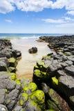 маяк пляжа Стоковые Фото