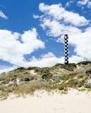 маяк пляжа Стоковые Изображения RF
