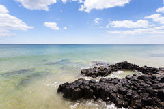 маяк пляжа bunbury Стоковая Фотография