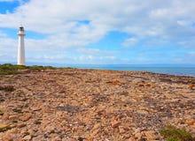 Маяк пункта скромный, залив Спенсера Стоковые Фото