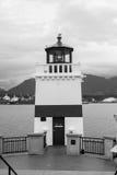Маяк пункта Brockton, Ванкувер, ДО РОЖДЕСТВА ХРИСТОВА Стоковая Фотография RF