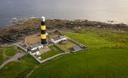 Маяк пункта St. John графство вниз Северная Ирландия стоковое фото