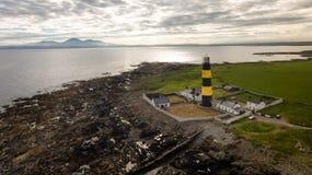 Маяк пункта St. John графство вниз Северная Ирландия стоковая фотография