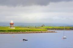 Маяк, пункт Rosses, графство Sligo стоковая фотография rf