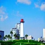 маяк пляжа длинний Стоковое Изображение
