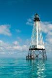 Маяк рифа аллигатора Стоковая Фотография
