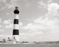маяк света острова 1872 полос черный построенный bodie горизонтальный был бел Стоковое Фото