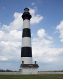 маяк света острова 1872 полос черный построенный bodie горизонтальный был бел Стоковые Фотографии RF