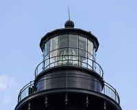 маяк света острова 1872 полос черный построенный bodie горизонтальный был бел Стоковая Фотография RF