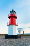 Маяк с foghorn и другой маяк внутри  Стоковое Фото