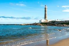 маяк Уругвай ignacio jose стоковое изображение rf