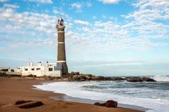 маяк Уругвай ignacio jose стоковая фотография