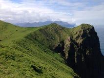Маяк Фарерские острова Kallur стоковая фотография
