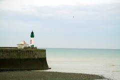 маяк Франции Стоковые Фотографии RF