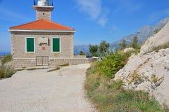 маяк Хорватии Стоковая Фотография RF