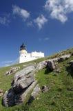 маяк Шотландия Стоковое фото RF