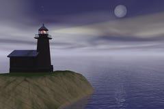 маяк иллюстрация вектора