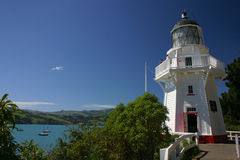 маяк akaroa Стоковая Фотография