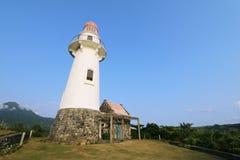 Маяк Basco острова Batan в Batanes, Филиппинах - серии 7 Стоковые Изображения RF