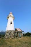 Маяк Basco острова Batan в Batanes, Филиппинах - серии 8 Стоковое Изображение RF