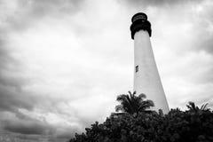 маяк biscayne ключевой Стоковые Фотографии RF